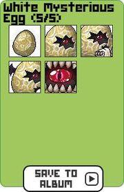 Family white mysterious egg