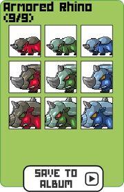 Family armored rhino