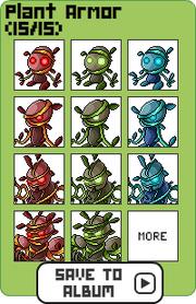 Family plant armor