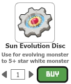 Sun evolution disc