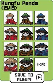 Family kungfu panda
