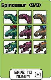 Family spinosaur