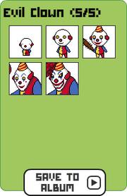 Family evil clown