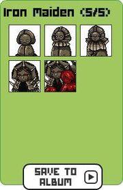 Family iron maiden
