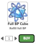 Full BP cube