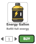 Energy gallon