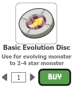 Basic evolution disc