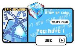 Lucky cube HTNY BP Cube