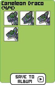Family cameleon draco