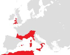 Mapa de Reignum Casteleanus