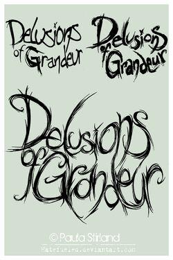Delusions of grandeur logos