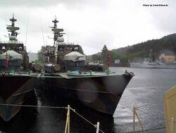 Norwegian Hauk class MTB in Bergen