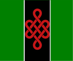 BADGEunityGREENflag