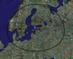 Boridien Map
