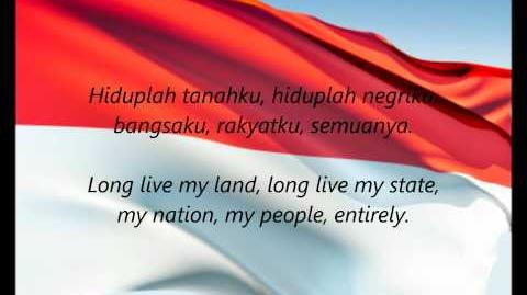 "Indonesian National Anthem - ""Indonesia Raya"" (ID EN)"