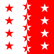 Flag of Valais