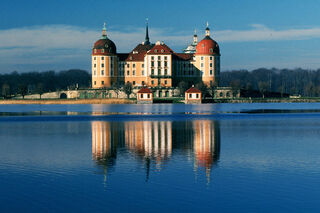 Castle Moritzburg (Germany), view from east