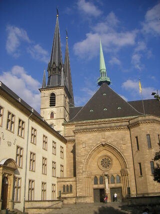 Notre-Dame Cathedral in Luxembourg