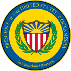 Seal of the USO President
