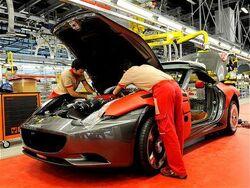 Warbuck car factory
