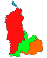 Map of New USSR (regions)