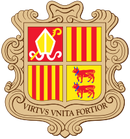 200px-Coat of arms of Andorra svg