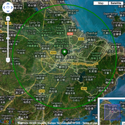 Geographic Map of Ningbo