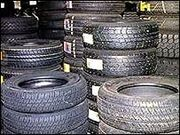 Tyre stockpile