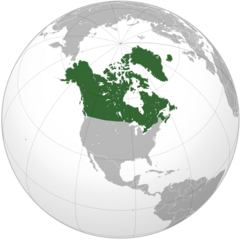 Commonwealth Canada (orthographic projection)