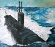 USS Virginia on board