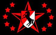 Blackhorse flag