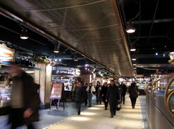 Halles, Central train station, Montreal 2006-01-09