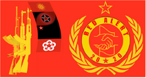 Red alert flag star edit