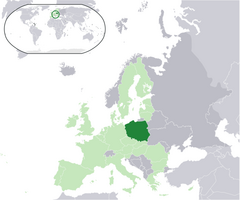 Location Poland EU Europe