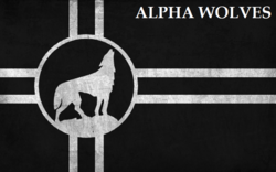 Alpha Wolves Flag