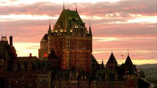 Le château Frontenac Vieux-Québec, ville de Québec, Québec