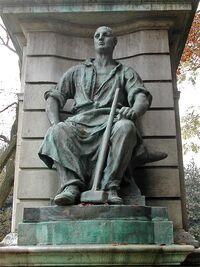 John Warbuck Statue