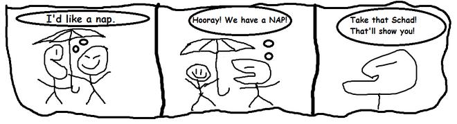 Sengoku umbrella nap