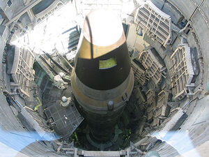 Nuclear missile in silo
