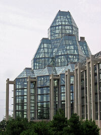 National Gallery of Canada glass tower 2005