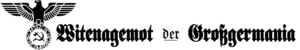 Witenagemot-Emblem