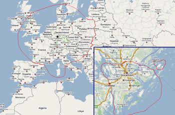 New Arundel - European Map