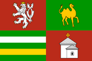 Flag of Southwestern Bohemia