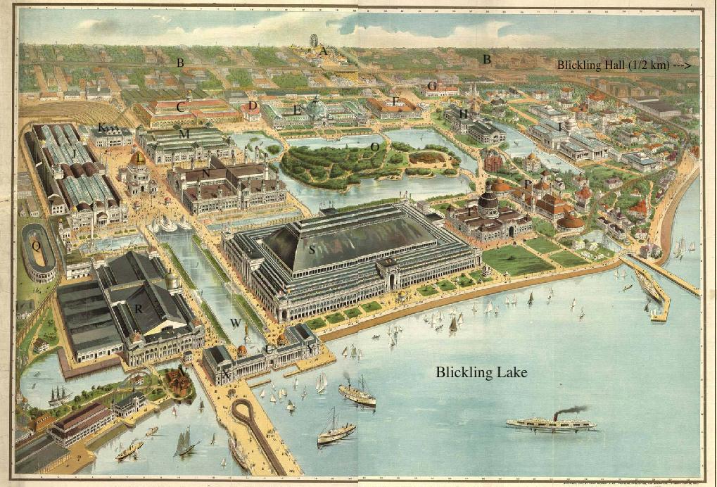 Official Map of Blickling