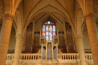 Organ of the Notre-Dame Cathedral in Luxembourg
