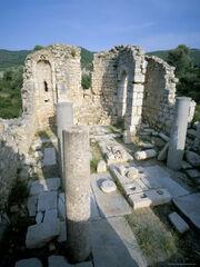 718-228~Ruins-of-a-Byzantine-Church-Patara-Anatolia-Turkey-Posters