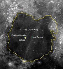 Map of Mare Serenitatis Kingdom