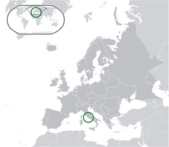 Location Vatican City Europe