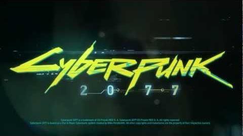 Cyberpunk 2077 title reveal