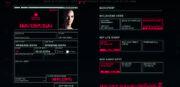 Character Sheet - Cyberpunk 2077
